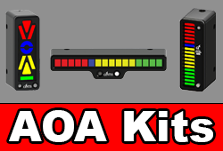 Newest Alpha Systems Angle of Attack (AOA) Indicator Kits