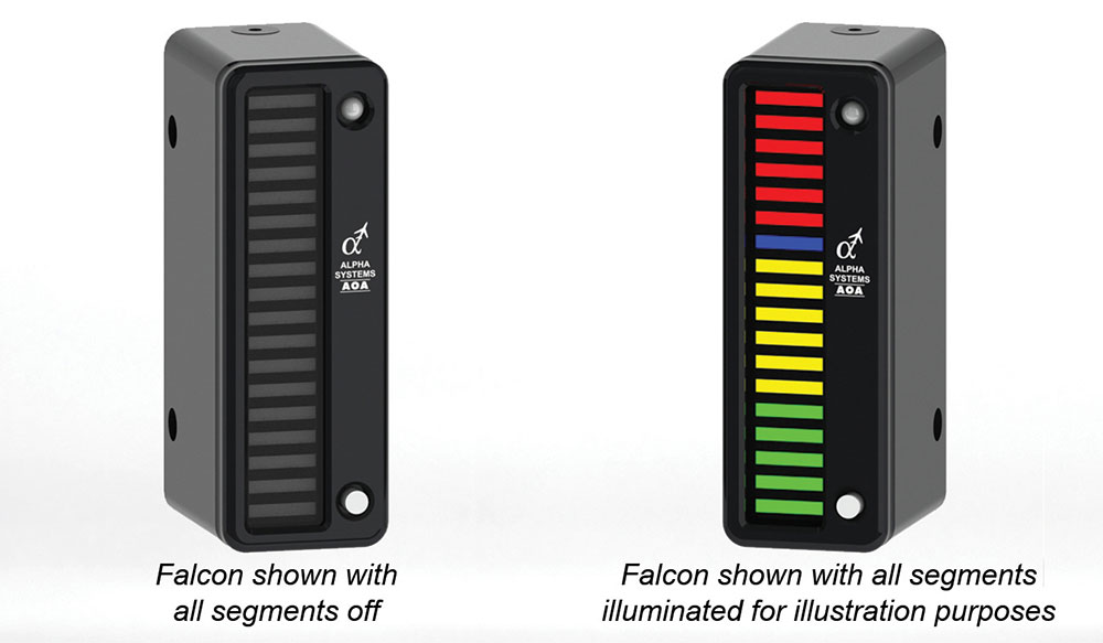 Alpha Systems AOA Falcon Angle of Attack Indicator
