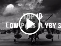 Top 10 Low Pass Flybys